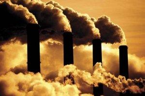 Polusi akibat pembakaran batubara