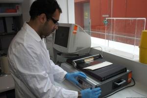 Pembuatan membran skala laboratorium
