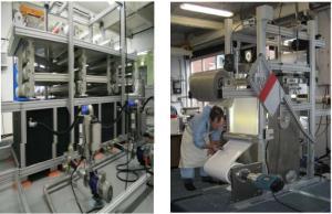 Proses pembuatan membran lembaran skala industri 4